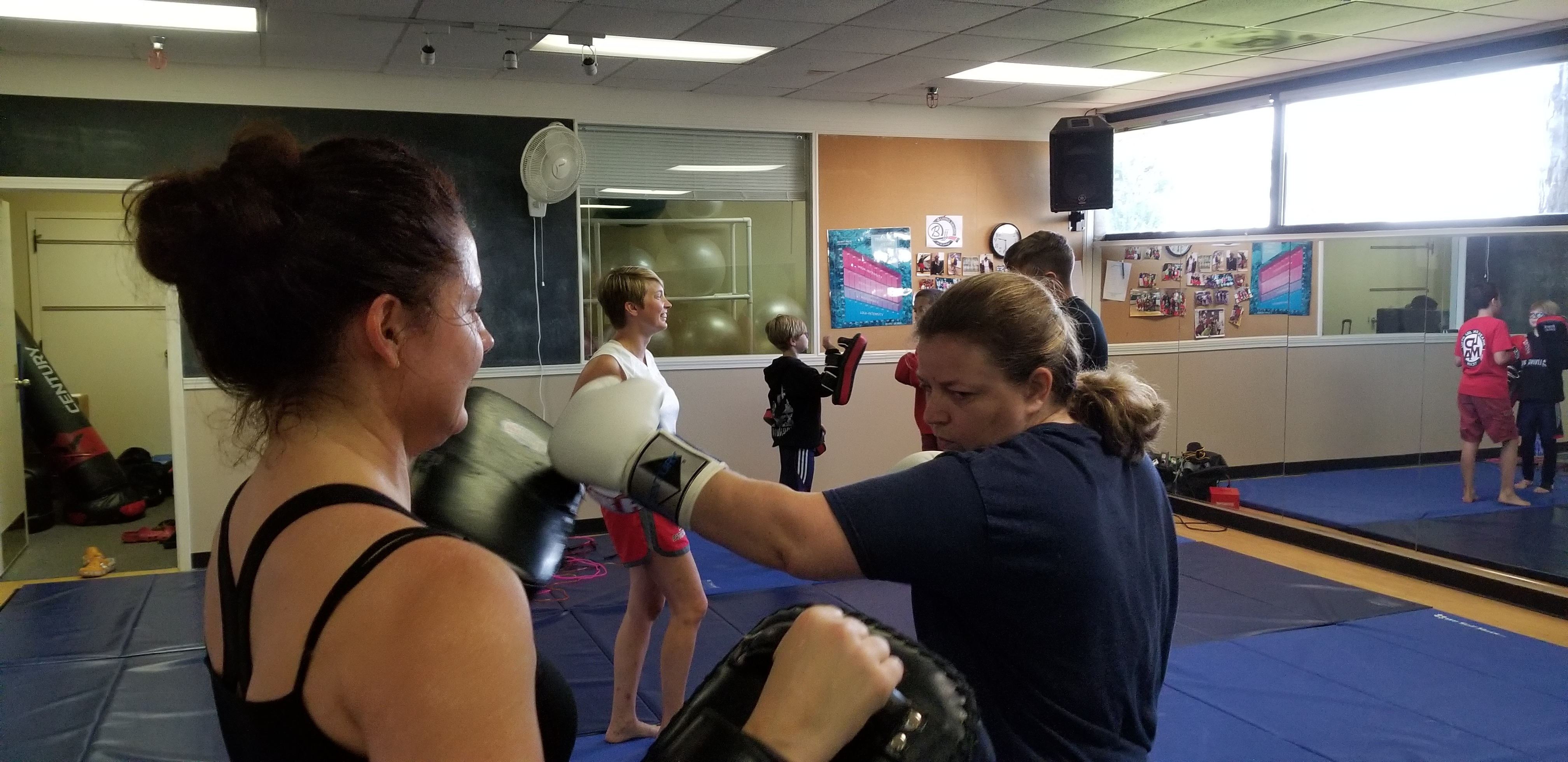 New Kickboxing Classes! | Living Sword Karate | Shotokan Karate